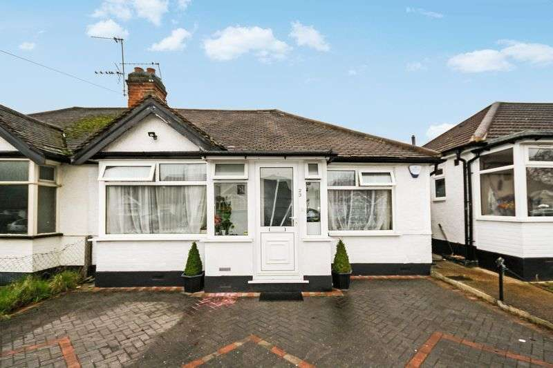 3 Bedrooms Semi Detached Bungalow for sale in Moat Farm Road, Northolt