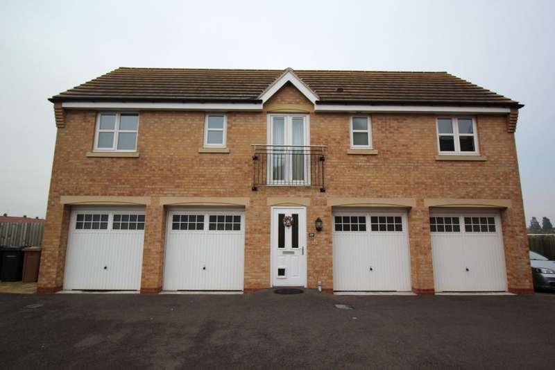 2 Bedrooms Property for sale in Deansleigh, Lincoln, LN1