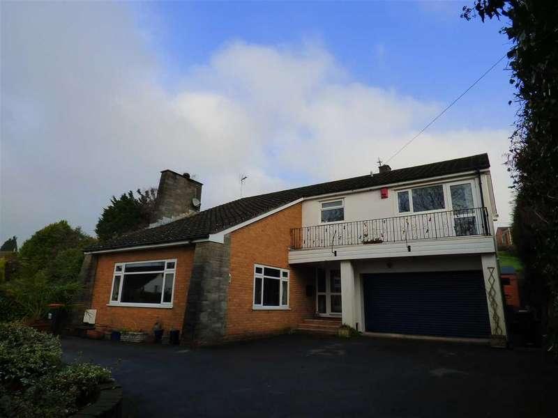 4 Bedrooms Detached House for sale in Oakwood, Lower Road, Llandevaud, Near Chepstow