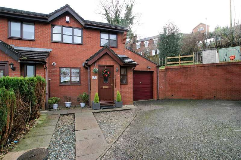 3 Bedrooms Semi Detached House for sale in Orchard Gardens, Leek