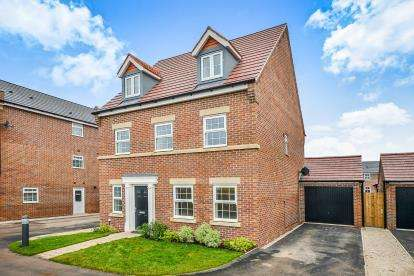 5 Bedrooms Detached House for sale in Sorrel Drive, Kirkby-In-Ashfield, Nottingham