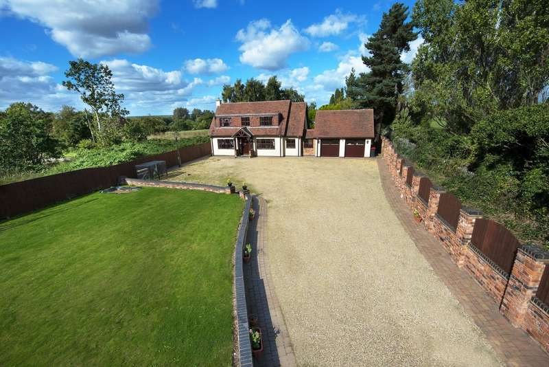 4 Bedrooms Detached House for sale in Farm Hall Lane, Kingsbury, Staffordshire, B78 2LJ