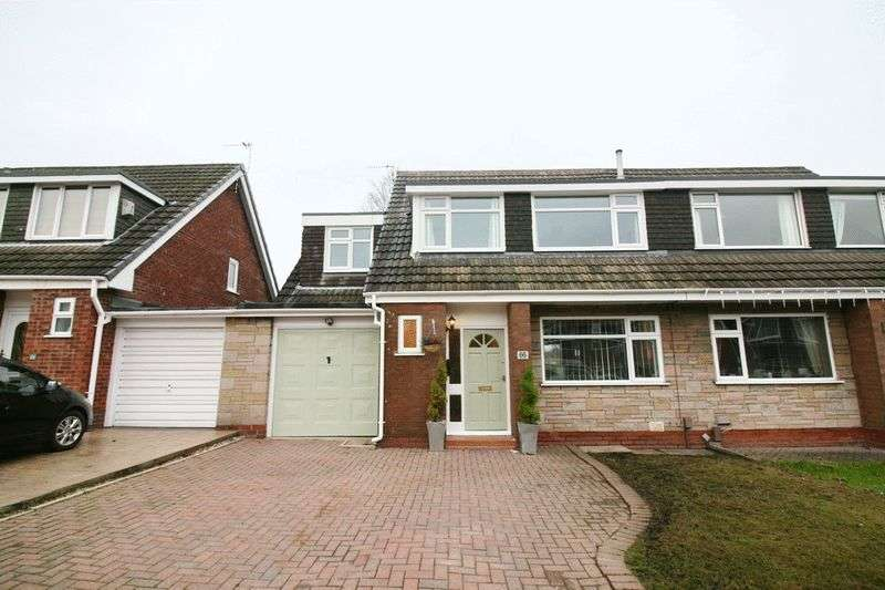 4 Bedrooms Semi Detached House for sale in Wyre Drive Worsley Manchester