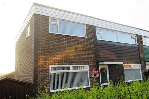 5 Bedrooms Semi Detached House for sale in Clifton Walk, Newcastle upon Tyne
