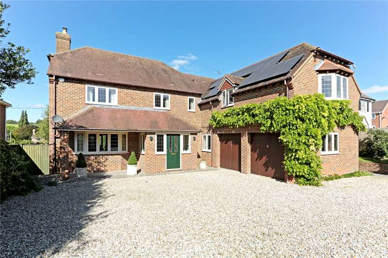 4 Bedrooms Detached House for sale in Main Road, Cherhill, Calne, Wiltshire, SN11