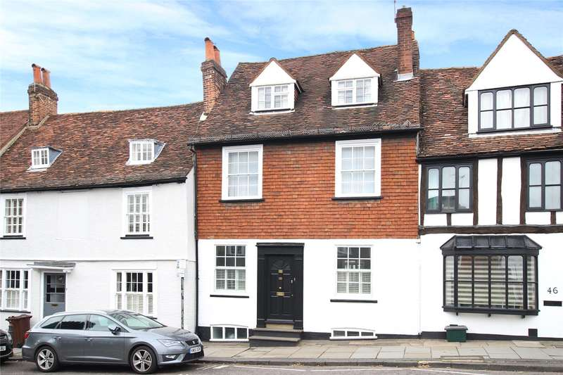 4 Bedrooms Terraced House for sale in Holywell Hill, St. Albans, Hertfordshire, AL1