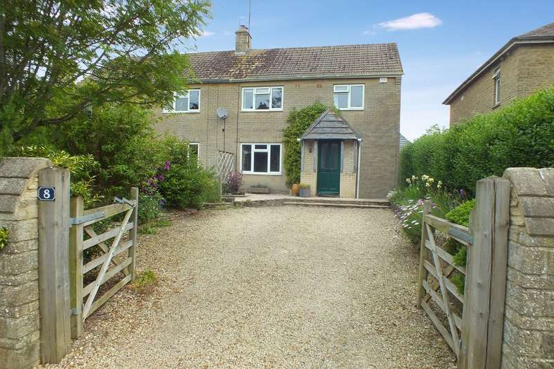 3 Bedrooms Semi Detached House for sale in Ampney Crucis