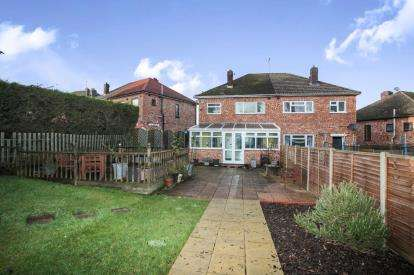 3 Bedrooms Semi Detached House for sale in Wentworth Road, Rugby, Warwickshire, .