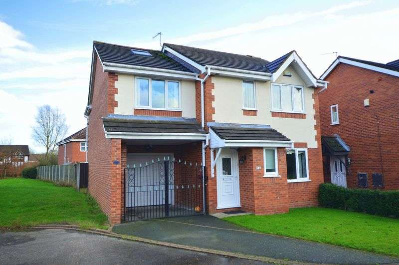 4 Bedrooms Detached House for sale in Whimbrel Park, Halewood