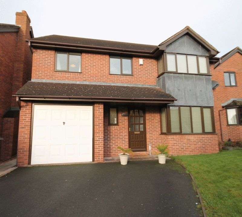 4 Bedrooms Detached House for sale in Steppes Way, Market Drayton