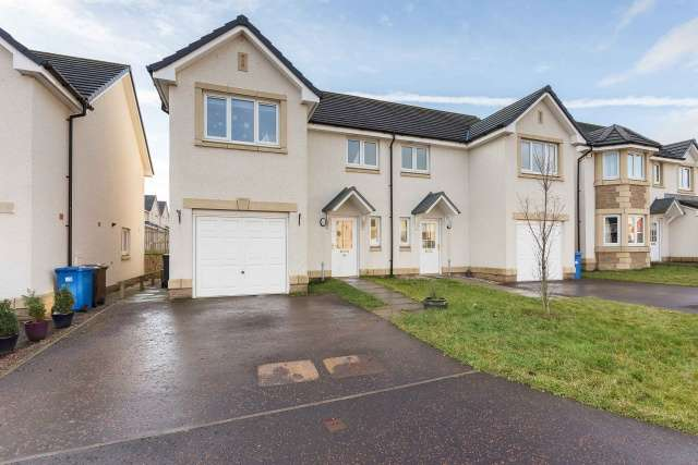 3 Bedrooms Semi Detached House for sale in Russell Drive, Bathgate, West Lothian, EH48 2GG
