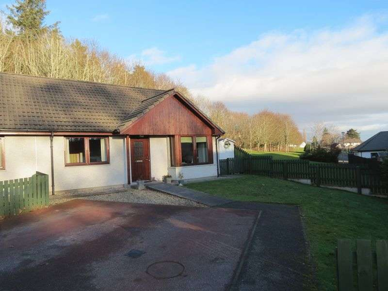 2 Bedrooms Semi Detached Bungalow for sale in The Orchard, Alness