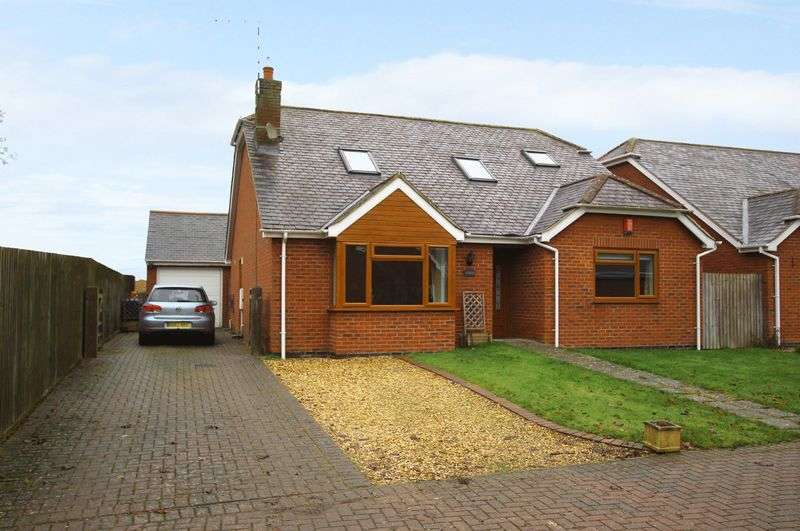 4 Bedrooms Detached Bungalow for sale in Lutterworth Road, North Kilworth