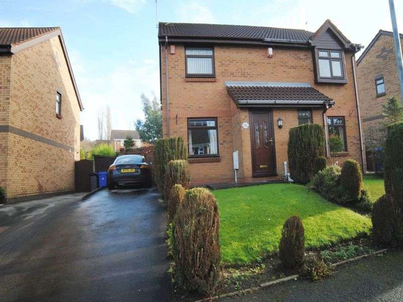 2 Bedrooms Semi Detached House for sale in Brookview Drive, Weston Coyney, Stoke-On-Trent, ST3 5XJ