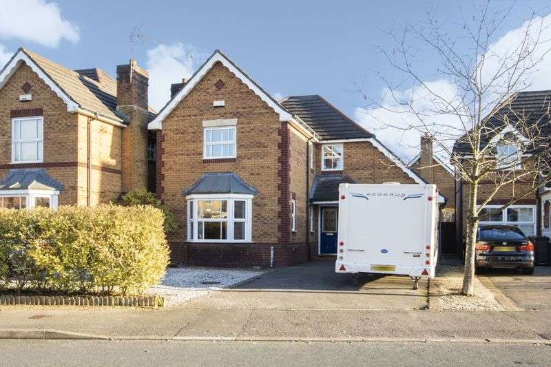 4 Bedrooms Detached House for sale in Oak Tree Drive, Newport