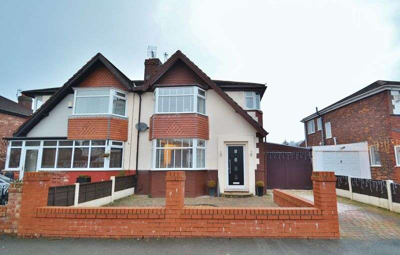 3 Bedrooms Semi Detached House for sale in Chaseley Road, Salford