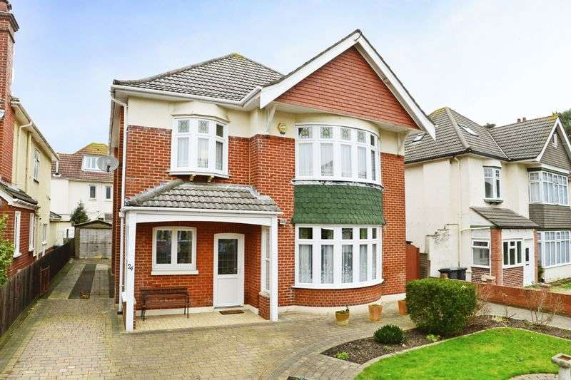 7 Bedrooms Detached House for sale in Kings Park Road, Bournemouth, BH7.