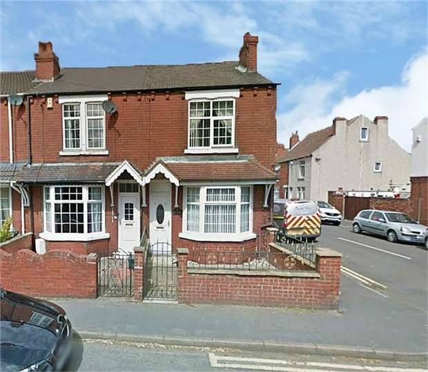 3 Bedrooms End Of Terrace House for sale in Moss Road, Askern, Doncaster, South Yorkshire