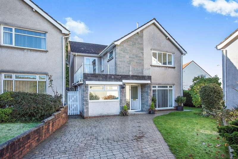 4 Bedrooms Detached House for sale in Trenewydd Rise, Cimla, Neath