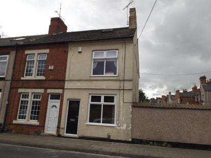 3 Bedrooms End Of Terrace House for sale in Tudor Street, Sutton-In-Ashfield, Nottinghamshire