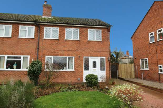 3 Bedrooms Semi Detached House for sale in St John's Road, Stourport-On-Severn, Worcestershire, DY13 9DS