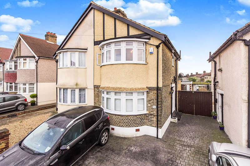 2 Bedrooms Semi Detached House for sale in Exmouth Road, Welling, DA16