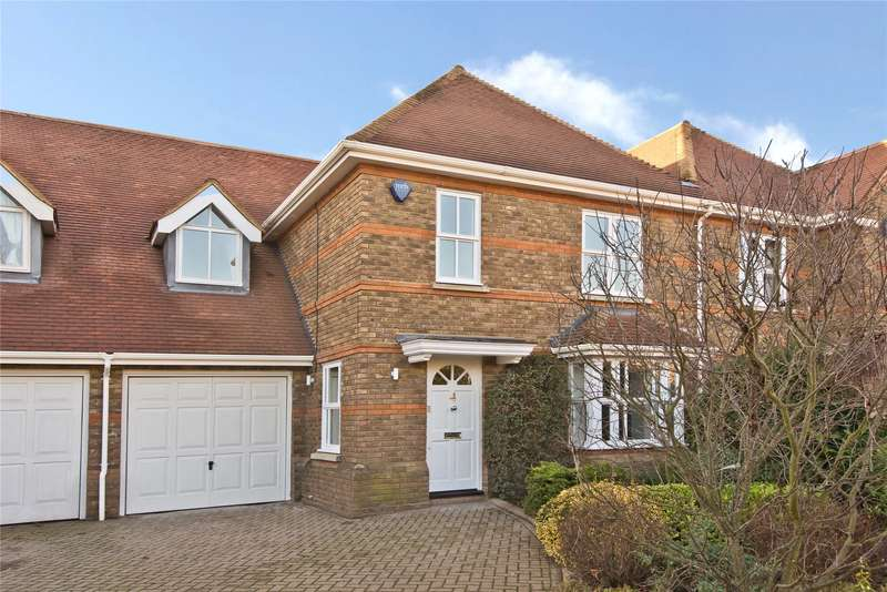 4 Bedrooms Semi Detached House for sale in Pemberton Place, Carrick Gate, Esher, Surrey, KT10