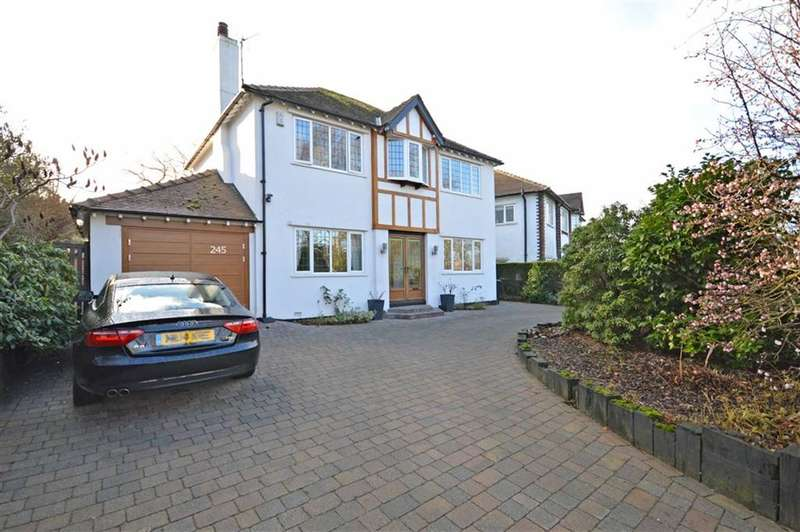 4 Bedrooms Property for sale in BRAMHALL MOOR LANE, Hazel Grove, Stockport, Cheshire, SK7