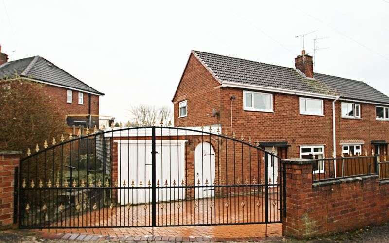 2 Bedrooms Semi Detached House for sale in Rutland Road. Kidsgrove