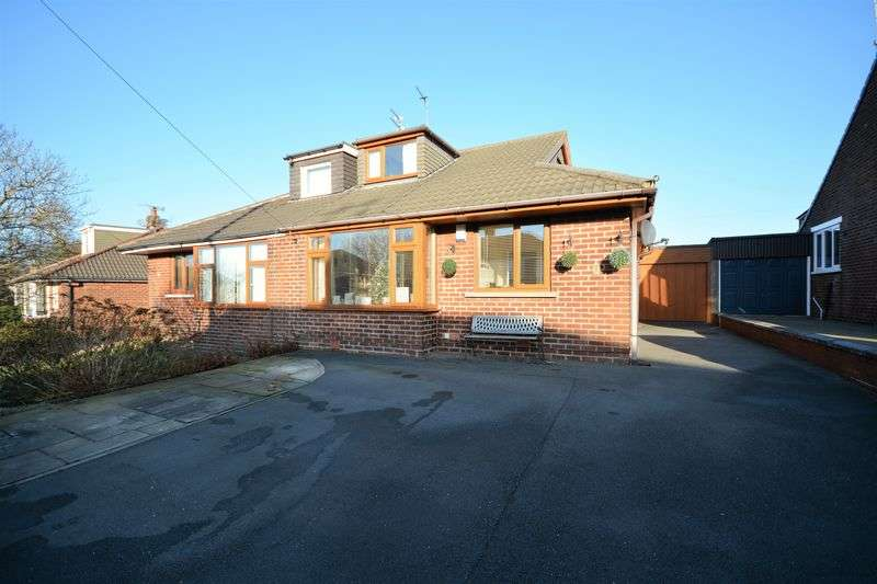 3 Bedrooms Semi Detached Bungalow for sale in Edinburgh Drive, Oswaldtwistle