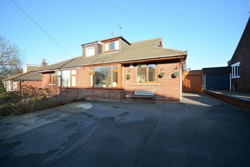 3 Bedrooms Semi Detached Bungalow for sale in Edinburgh Drive, Oswaldtwistle