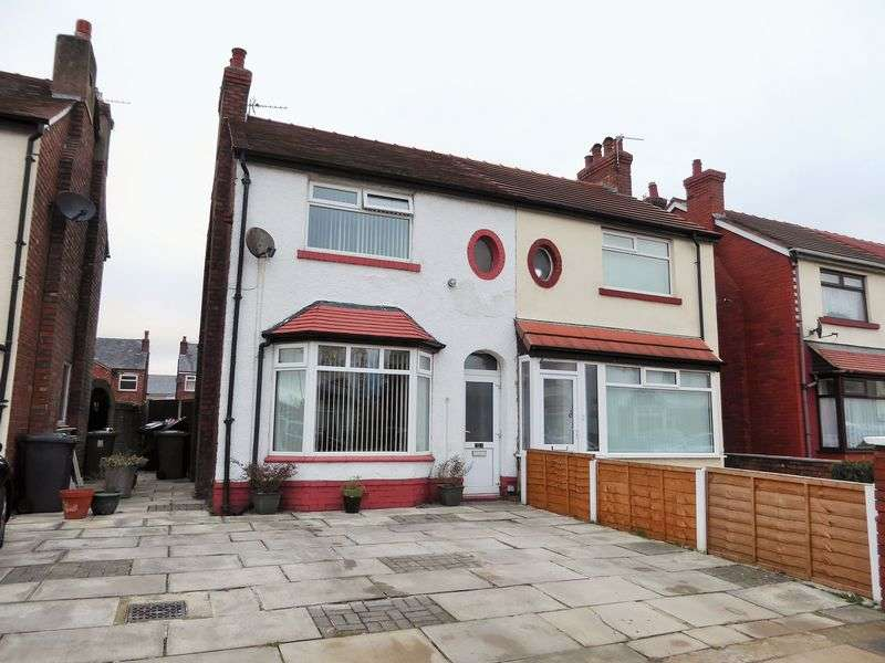3 Bedrooms Semi Detached House for sale in Brook Street, Crossens, Southport