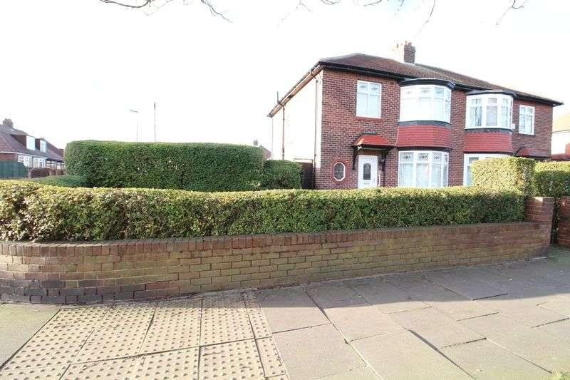 3 Bedrooms Semi Detached House for sale in York Avenue, Jarrow