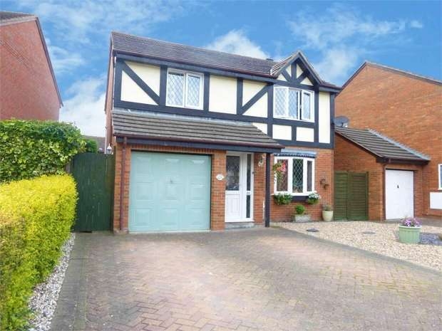 4 Bedrooms Detached House for sale in Falkland Road, Evesham, Worcestershire