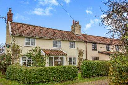 2 Bedrooms Semi Detached House for sale in Pulham St. Mary, Diss, Norfolk