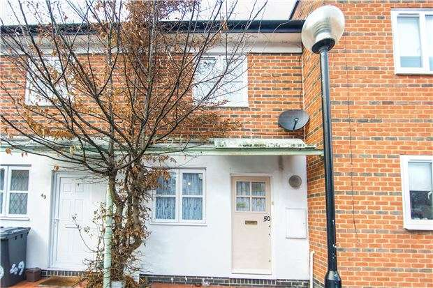 2 Bedrooms Terraced House for sale in Pageant Avenue, COLINDALE, NW9 5LQ