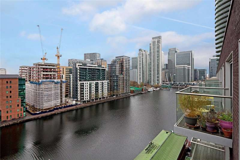 2 Bedrooms Flat for sale in Baltimore Wharf, 4 Oakland Quay, London, E14