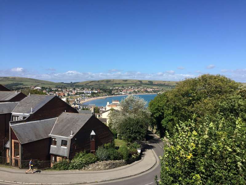 2 Bedrooms Flat for sale in PEVERIL ROAD, SWANAGE