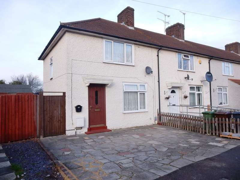 3 Bedrooms End Of Terrace House for sale in Rockwell Road, Dagenham, Essex, RM10 8JA