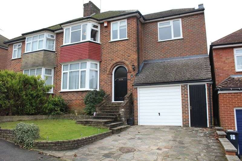 4 Bedrooms Semi Detached House for sale in Buttermere Gardens, Purley, Surrey