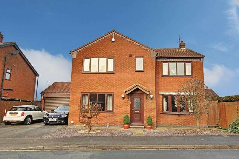 4 Bedrooms Detached House for sale in Churchill Rise, Burstwick