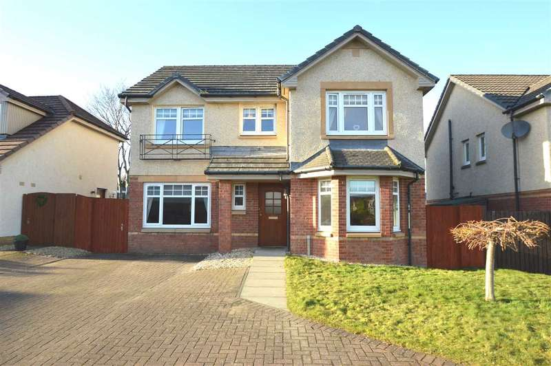 4 Bedrooms Detached House for sale in Dunbar Drive, Motherwell - extended 4 bed family home; finished to high standard