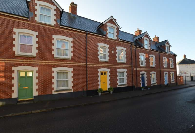 4 Bedrooms Town House for sale in Masterson Street, Exeter