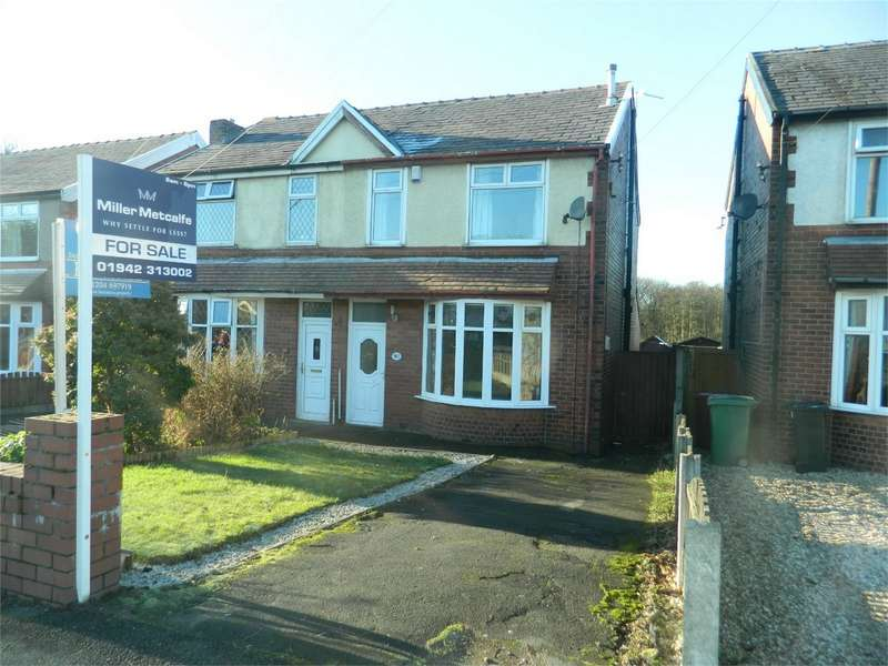 3 Bedrooms Semi Detached House for sale in St Helens Road, Over Hulton, Bolton, Lancashire