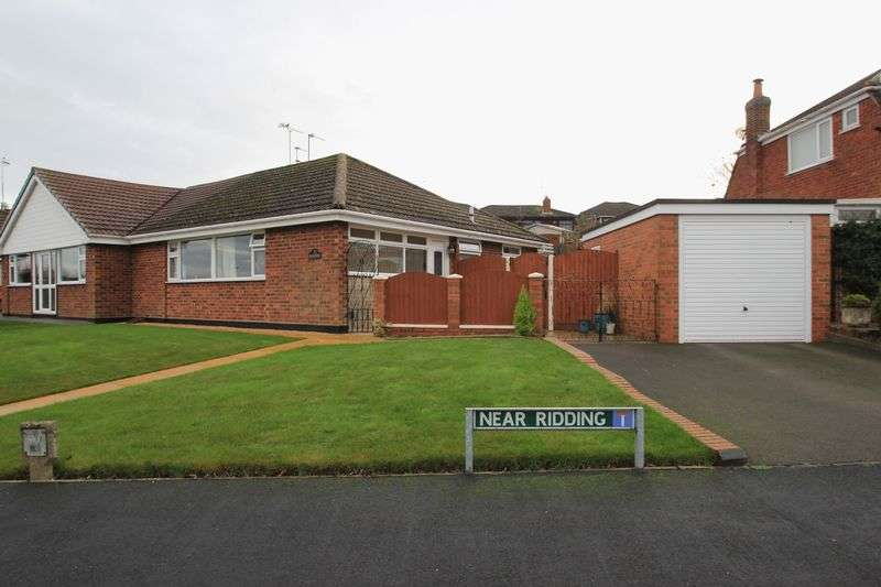 2 Bedrooms Semi Detached Bungalow for sale in Near Ridding, Gnosall, Stafford