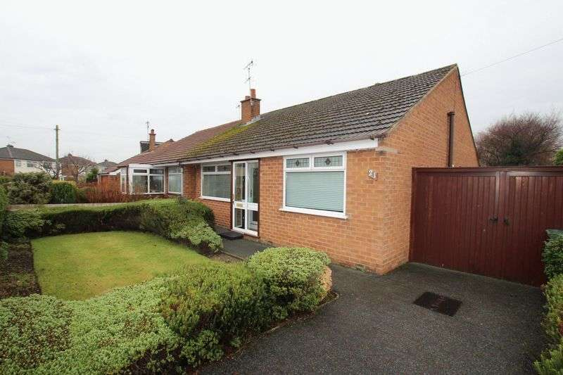 2 Bedrooms Semi Detached Bungalow for sale in Kenilworth Drive, Pensby
