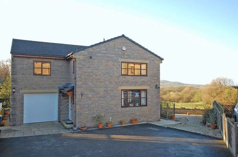 4 Bedrooms Detached House for sale in Tomwood Rise, Charlesworth