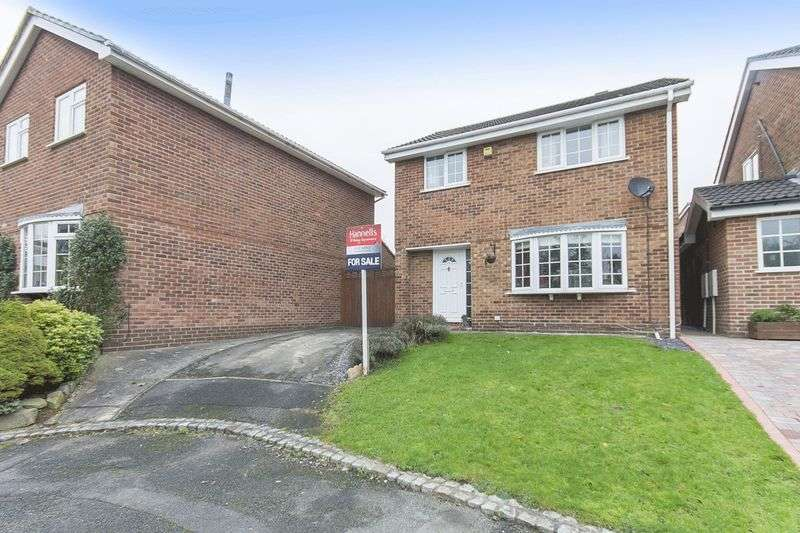 3 Bedrooms Detached House for sale in WRETHAM CLOSE, MICKEOVER