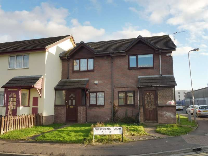 2 Bedrooms Terraced House for sale in Shakespeare Court, Cardiff