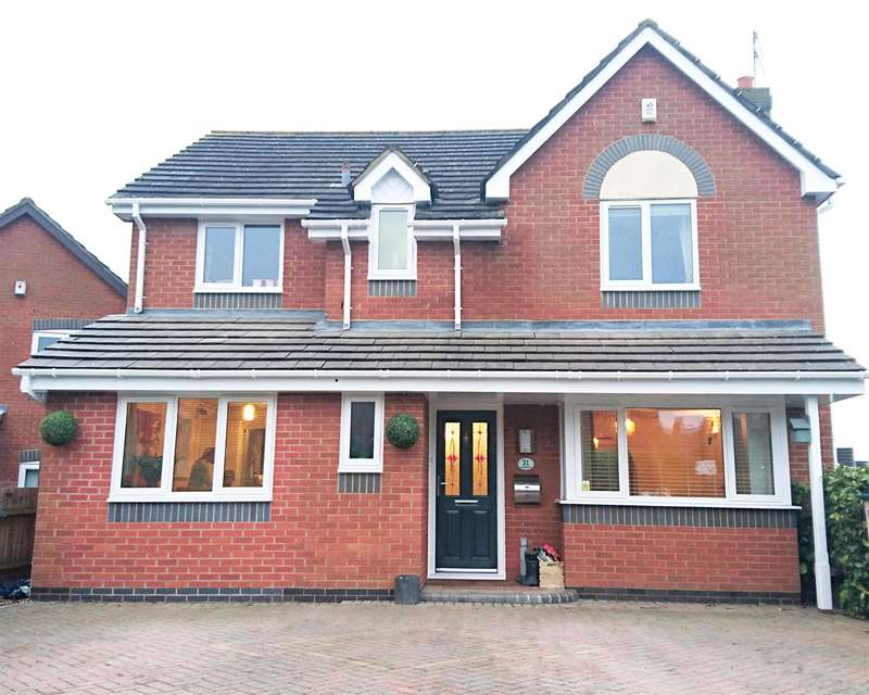 4 Bedrooms Property for sale in Toulouse Drive, Norton, Worcester